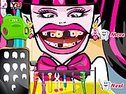 Игра Сумасшедший дантист лечит зубы