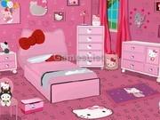 Игра Спальня для Хэллоу Китти