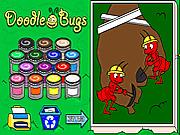 Игра Раскраски: милые насекомые