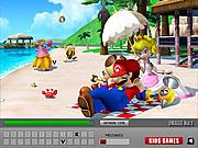 Игра Супер Марио - скрытые буквы