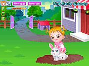 Игра Малышка Хейзел - Уход за животными