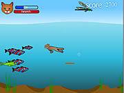 Игра Кот-Рыболов