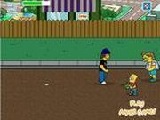 Игра Стрельба Симпсонов