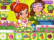 Игра Цветочный бутик Эммы