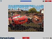 Игра Автомобильная мозайка Макквина