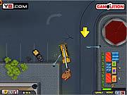 Игра Кран разрушающий парковки