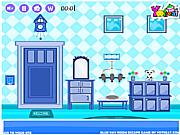 Игра Освобождение из голубой комнаты