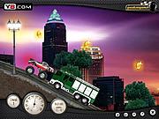 Игра Городские грузовики разрушители