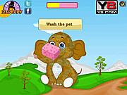 Игра Забота о слоненке