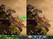 Игра Живое дерево - найди 5 различий