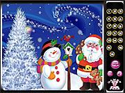Игра Рождество. Скрытые цифры