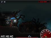 Игра Зомби трактор