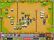 Игра Penguins Attack 4