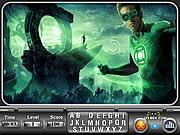 Игра Зеленый фонарь. Скрытый алфавит