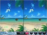 Игра Найти отличия на 2 пляжных картинках бесплатно