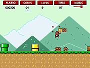 Игра Приключения супер Марио