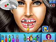 Игра Меган Фокс на приеме у стоматолога