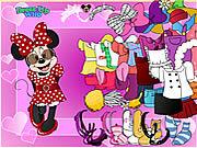 Игра Мышь Минни одевает вверх