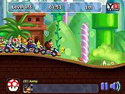 Игра Гонка супер Марио 3