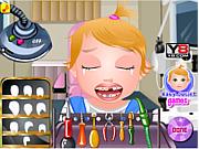 Игра Малышка Джульет у дантиста