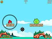 Игра Злые птички: героическое спасение