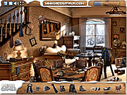 Игра Поиск предметов - Зимний домик