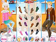 Игра Одевалки Барби и Кена