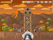 Игра Опасный вулкан и королевство