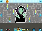 Игра Освобождение из комнаты ведьмы