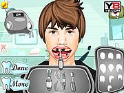 Игра Лечить зубы Джастин Бибер