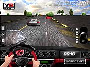 Игра 3D Сумасшедшая гонка