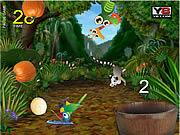 Игра Корзинка в джунглях