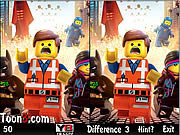 Игра The Lego Movie See The Difference