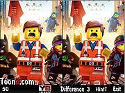 Игра Лего. Найти отличия