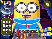 Игра Миньон-малыш на приеме у стоматолога