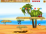 Игра Лило и Стич - сокровище на пляже