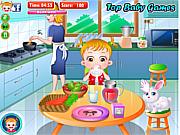 Игра Малышка Хейзел - Больной живот