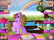 Игра Забота о милом пони