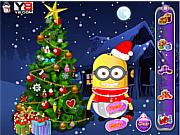 Игра Малыш Миньон и рождественское дерево