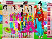 Игра Японская принцесса Барби