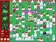 Игра Злые птички на Рождество