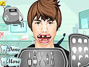 Игра Джастин Бибер у стоматолога