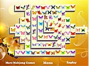 Игра Бабочка. Маджонг
