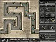 Игра Война Пушек