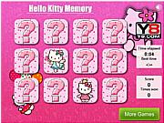 Игра Проверка памяти с Хелло Китти