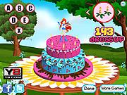 Игра Винкс - Оформление торта