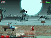 Игра Грузовик с зомби 2