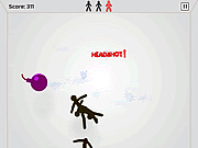 Игра Проворный ниндзя против Стикмана