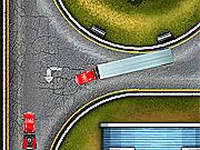 Игра Доставка красного грузовика