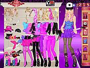 Игра Барби на рок-концерте